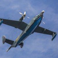 Бе-12 «Чайка» в небе над Крондшатом :: Vectorkel Иванов