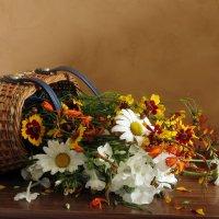 С корзиной цветов :: SaGa