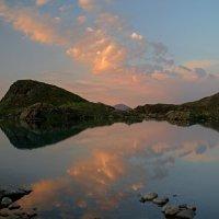 Вечер на Софийском озере :: Владимир Лебедев