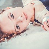 Девочка на меху :: Марина Кириллова