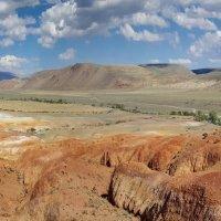 Марсианские пейзажи Чаган-Узуна :: Виктор Четошников