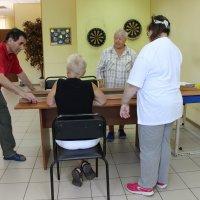 Открытый турнир по городошному спорту и жульбаку для жителей с ограниченными возможностями здоровья :: Центр Юность