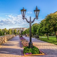 Лето.....улица....фонарь....... :: Александр Селезнев