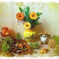 Осень совушек :: Nina Yudicheva