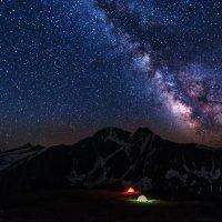 Ночь на Чегете :: Александр Хорошилов