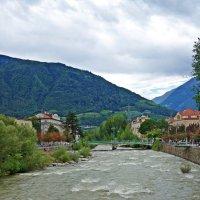Мерано-набережная реки Пассирио... :: Galina Dzubina