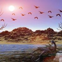 на природе) :: linnud