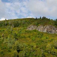 Гора с крестом в Мундыбаше :: Павел Савин