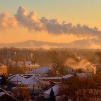 Морозное утро. :: Виктор Иванович