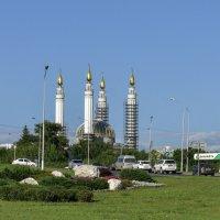 """Строящаяся соборная мечеть """"Ар-Рахим"""" в Уфе :: Виктор Куприянов"""