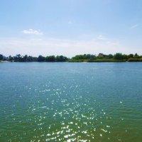 Река Дон. Солнечные блики на воде :: татьяна
