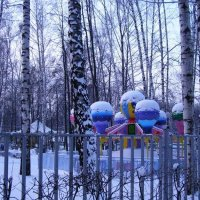 Святочная прогулка... :: Анна Воробьева