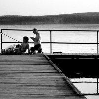 Вечерняя Рыбалка.... :: Дмитрий Петренко