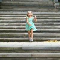 Весело по ступенькам! :: Надежда