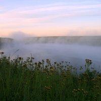 Туман укутал пелериной ... :: Евгений Юрков