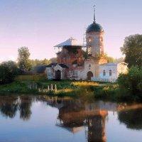 Николо-Столпенский мужской монастырь.п.Белый Омут :: Павлова Татьяна Павлова