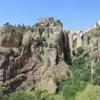 Панорама моста в г. Ронда, Испания, Андалузия :: Sergey Lebedev