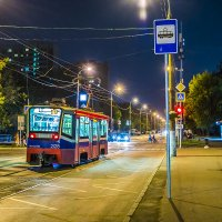 Ночной трамвай :: Игорь Герман