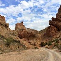 Снизу скалы выглядят еще более величественными. :: Anna Gornostayeva