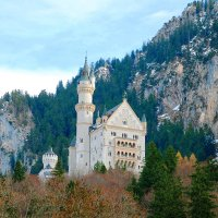 Замок Нойшванштайн (Бавария) :: Фотограф Любитель