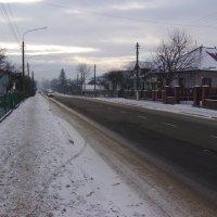 Зима  в   Надворной :: Андрей  Васильевич Коляскин