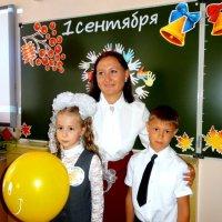 Наша первоклассница! :: Елизавета Успенская