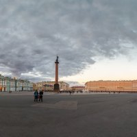 Вечер на Дворцовой площади, СПб :: Александр Кислицын