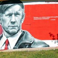 Граффити  на трансформаторной будке :: Vladimir Semenchukov