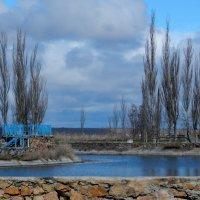 Заброшенный бассейн в санатории.Бердянск :: Рина Воржева