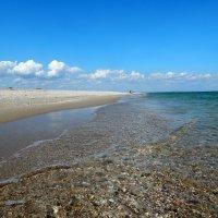 Пустынный пляж.Азовское море.Бердянск :: Рина Воржева
