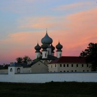 Вечер  на закате :: Сергей Кочнев