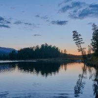 закат на озере Кёк-кёль :: Николай Мальцев