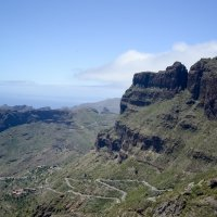 деревня и ущелье Маска   на западе острова Тенерифе :: Viktor Schwindt