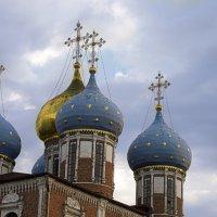 Купола Успенского собора. Рязанский Кремль :: Константин Тимченко