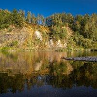 Белая гора на реке Яя :: Cергей Александров