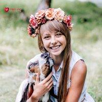 Алиса и Жираф)) :: Светлана Сироткина