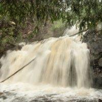 Водопад Мянтюкоски в Паанаярви. :: Наталия Владимирова