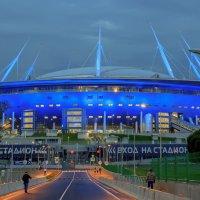 Зенит Арена вид с Яхтенного моста :: Сергей Х