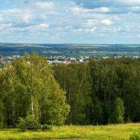 Кемеровская область, вид на п. Березово :: Владимир Деньгуб