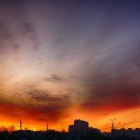 Закат в Питере :: Юрий Плеханов