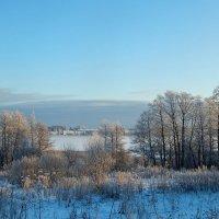 Зима, холодным покрывалом........ :: Елена Михайлова .