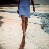 на берегу моря :: Ната Анохина