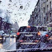 И снова дождь и снова в пробке! :: Натали Пам