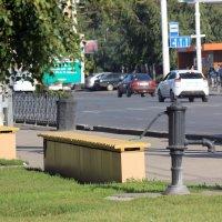 Единственная и  последняя колонка в  центре  Тамбова! :: Виталий Селиванов