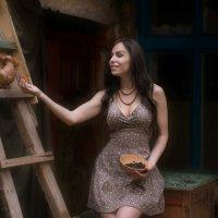 Хорошо быть голубем… Захотел в Париж — слетал… :: Марина Макарова
