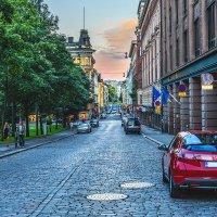 Вечер в Хельсинки :: Ирина Лепнёва