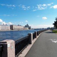 Набережная реки Нева :: Виктор Елисеев