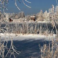 Зимним днём на Ангаре... :: Александр Попов