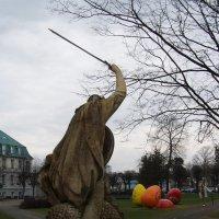 Рыцарь, разящий дракона, и пасхальные яйца :: Анна Воробьева