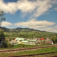 С окна поезда :: Роман Савоцкий